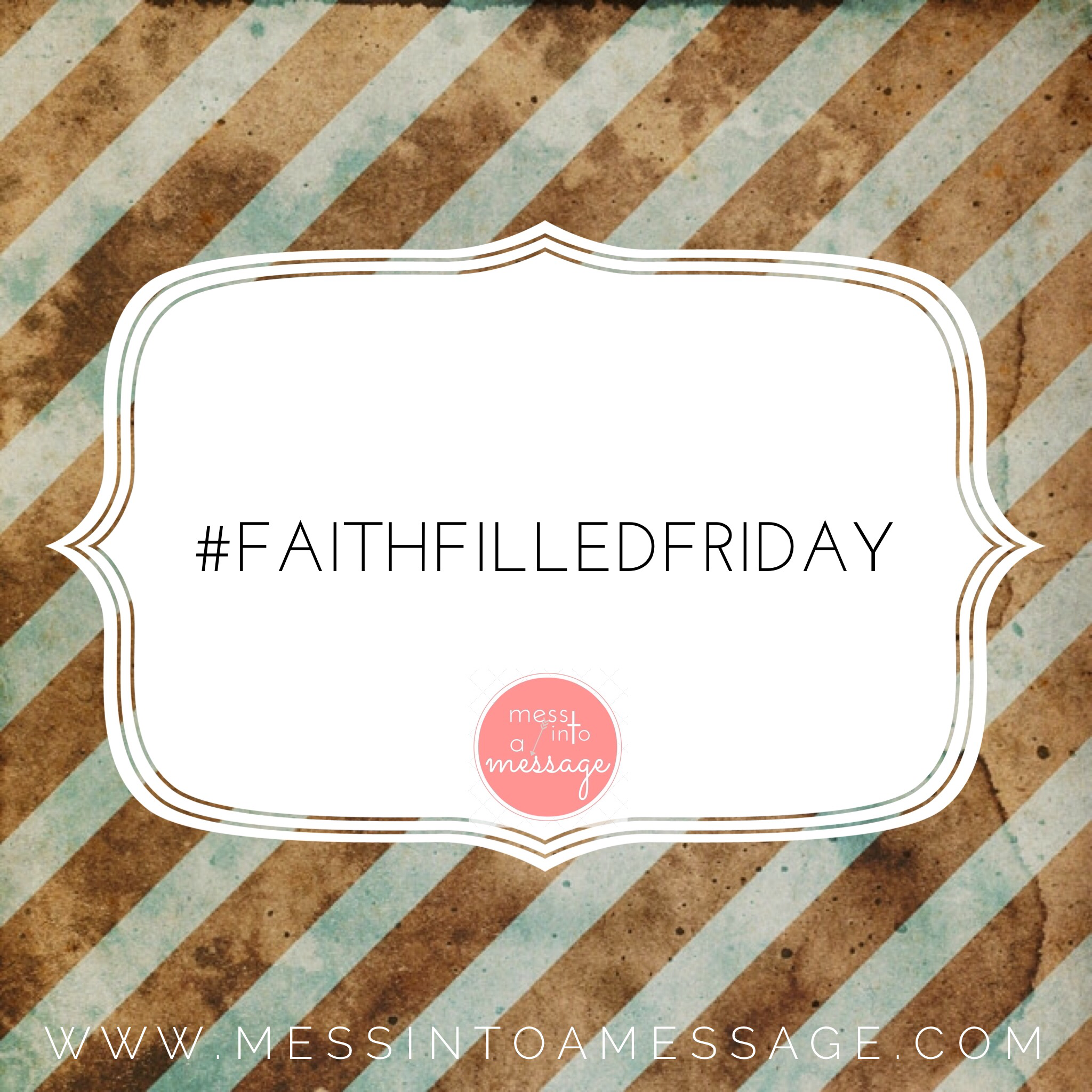 #faithfilledfriday: When God is faithful in our obedience.
